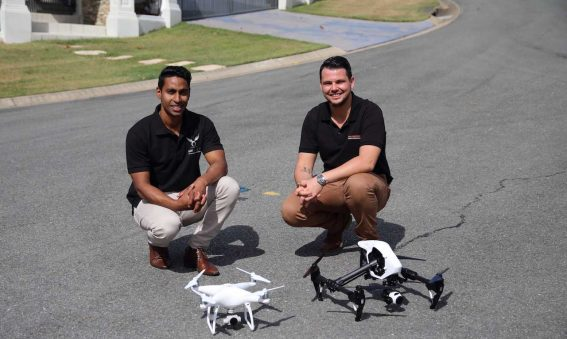 real drone photography partnership