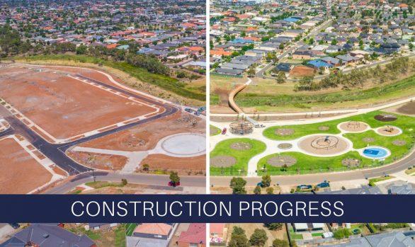 Talliver Terrace Park Construction
